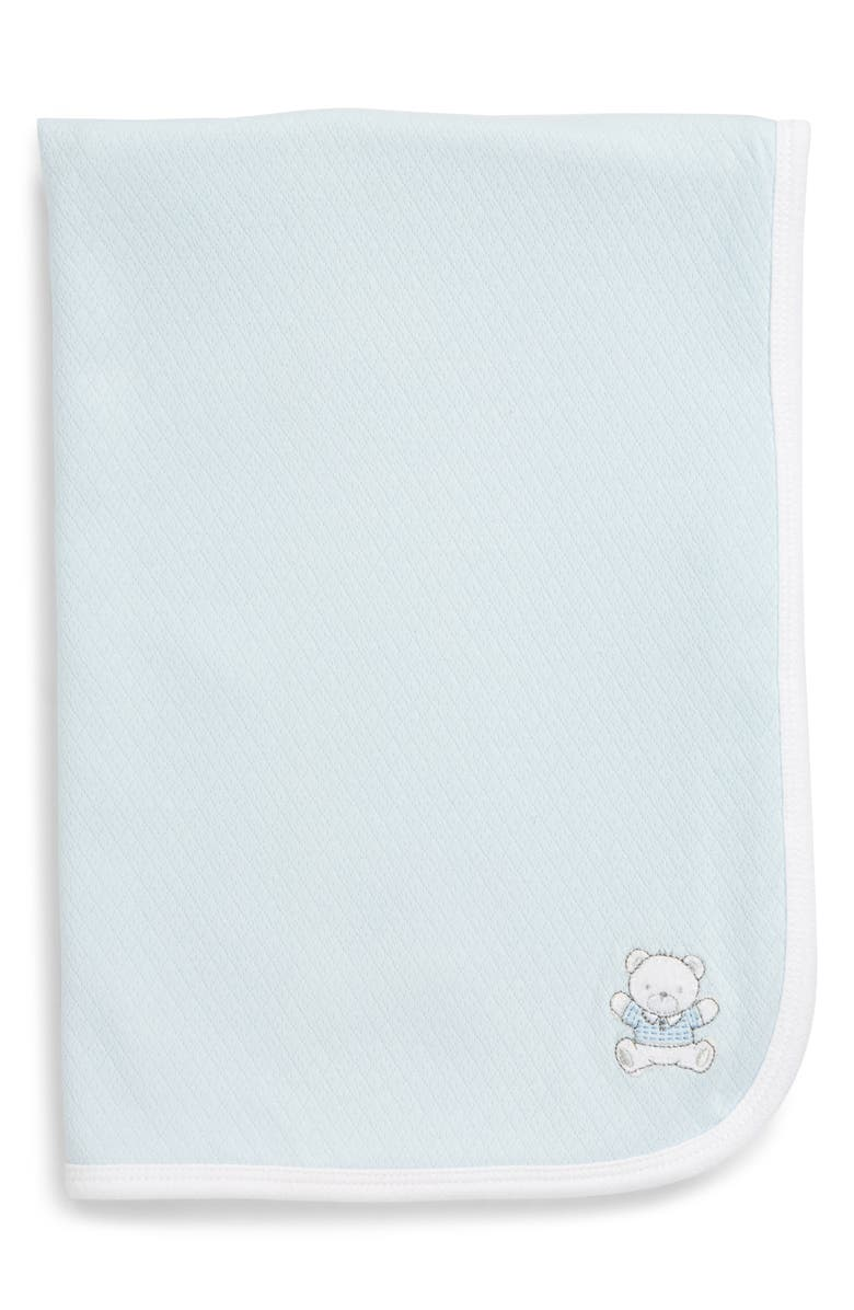LITTLE ME Cute Bear Receiving Blanket, Main, color, 400