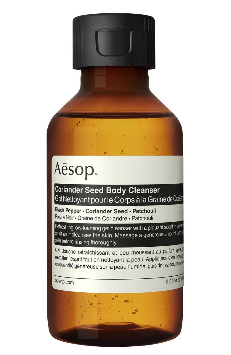 AESOP Coriander Seed Body Cleanser, Main, color, TRAVEL