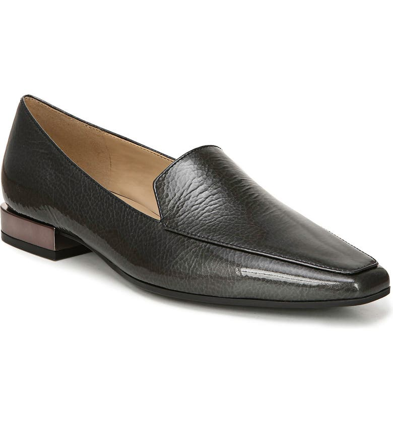 NATURALIZER Clea Loafer, Main, color, GUNMETAL PATENT LEATHER
