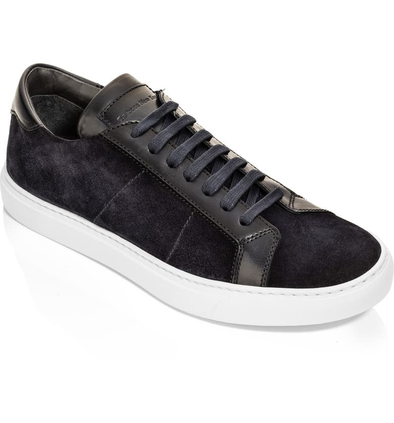 TO BOOT NEW YORK Malden Low Top Sneaker, Main, color, SUEDE BLUE