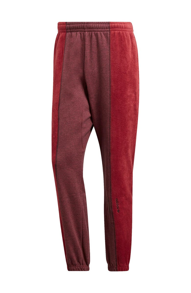ADIDAS W Sweatpants, Main, color, LEGACY RED