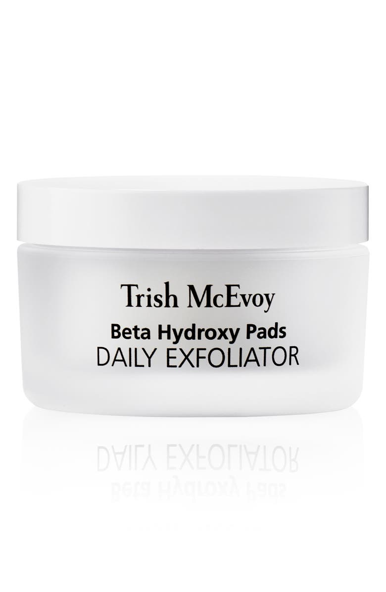 TRISH MCEVOY Correct and Brighten<sup>®</sup> Beta Hydroxy Pads Daily Exfoliator, Main, color, No Color