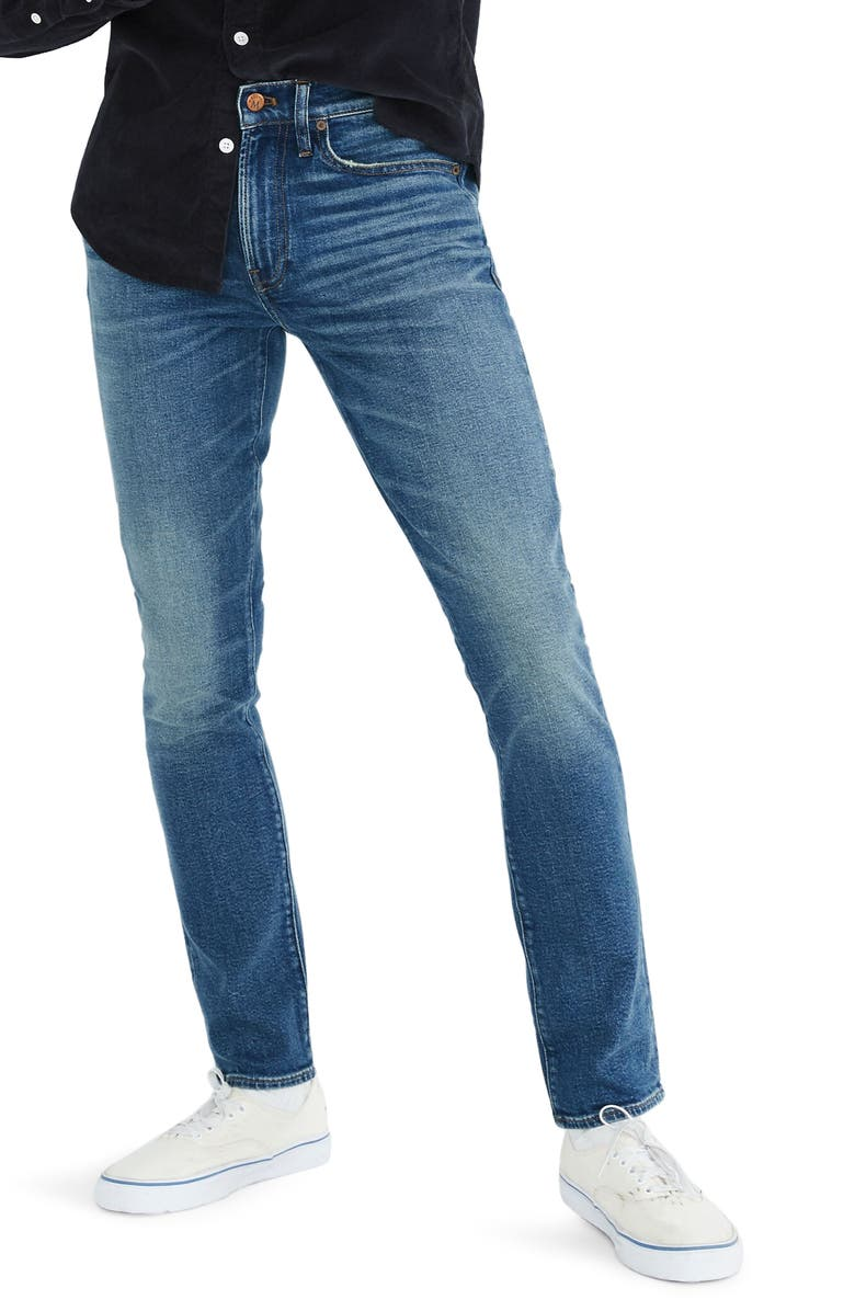 MADEWELL Skinny Jeans, Main, color, 400