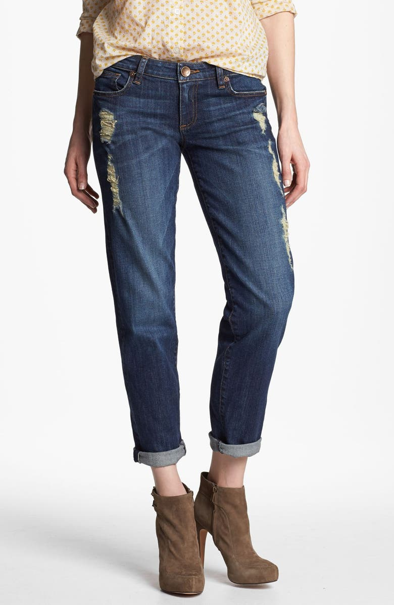 KUT FROM THE KLOTH 'Catherine' Slim Boyfriend Jeans, Main, color, 400