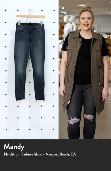 The Stunner Ankle Step Fray Jeans, sales video thumbnail