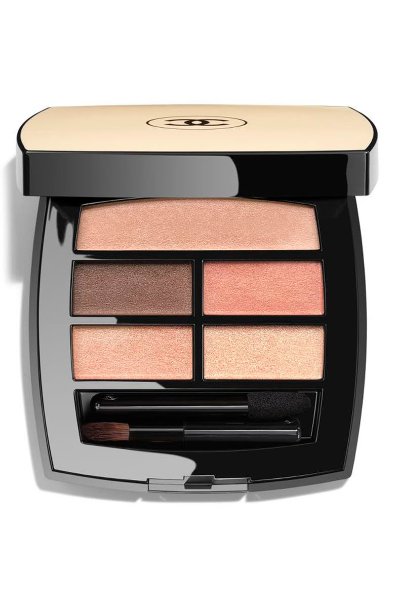 CHANEL LES BEIGES HEALTHY GLOW Natural Eyeshadow Palette, Main, color, WARM