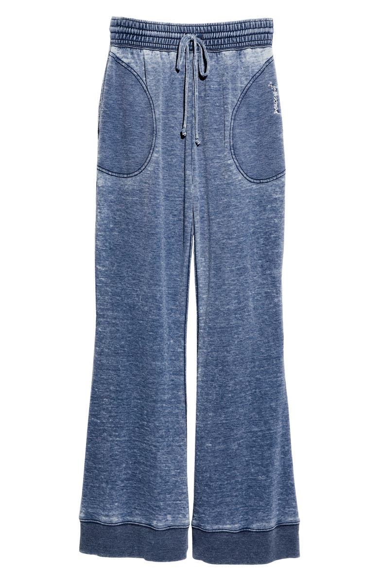 FREE PEOPLE Cozy Cool Lounge Pants, Main, color, DARK SAPPHIRE