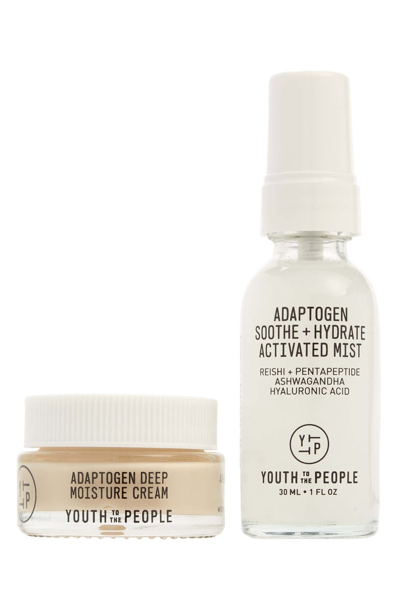 YOUTH TO THE PEOPLE Travel Size All Day Hydration Set, Main, color, NO COLOR