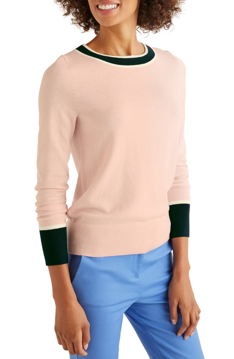 BODEN Norwich Button Back Sweater, Main, color, 684