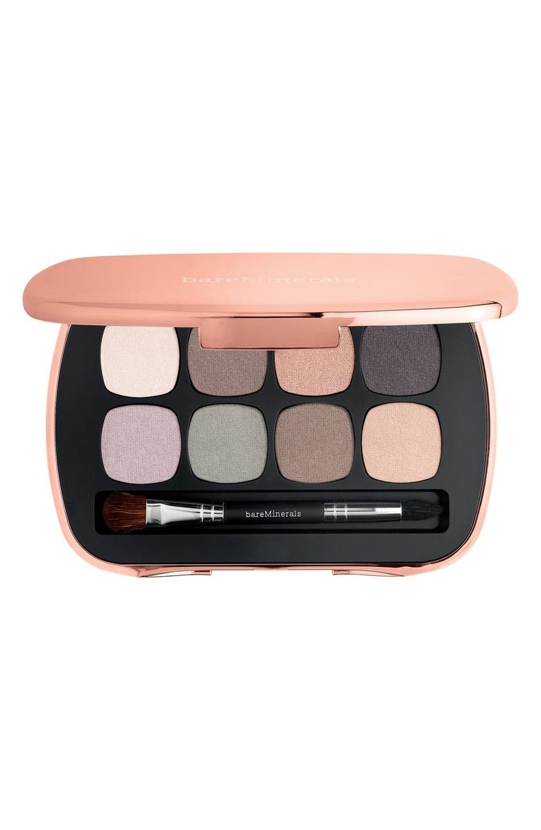 BAREMINERALS<SUP>®</SUP> READY 8.0 The Posh Neutrals Eyeshadow Palette, Main, color, 220
