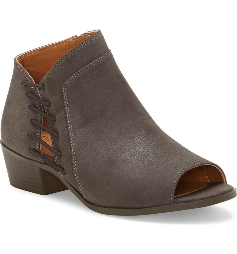 LUCKY BRAND Open Toe Bootie, Main, color, 021