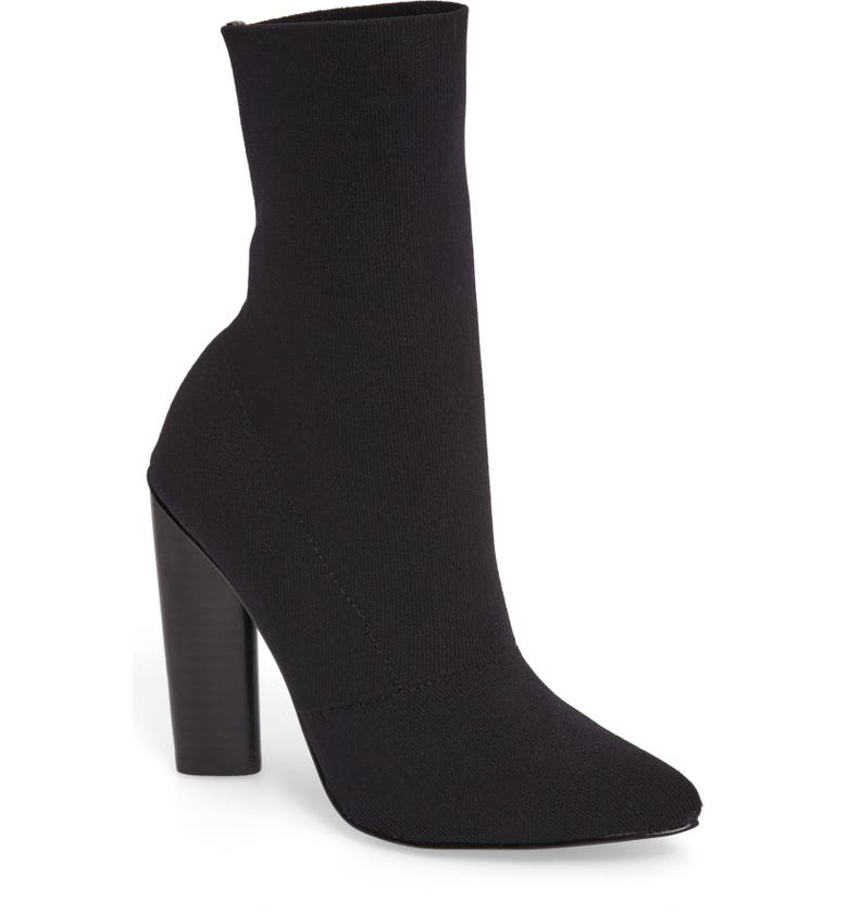 STEVE MADDEN Capitol Stretch Bootie, Main, color, 001