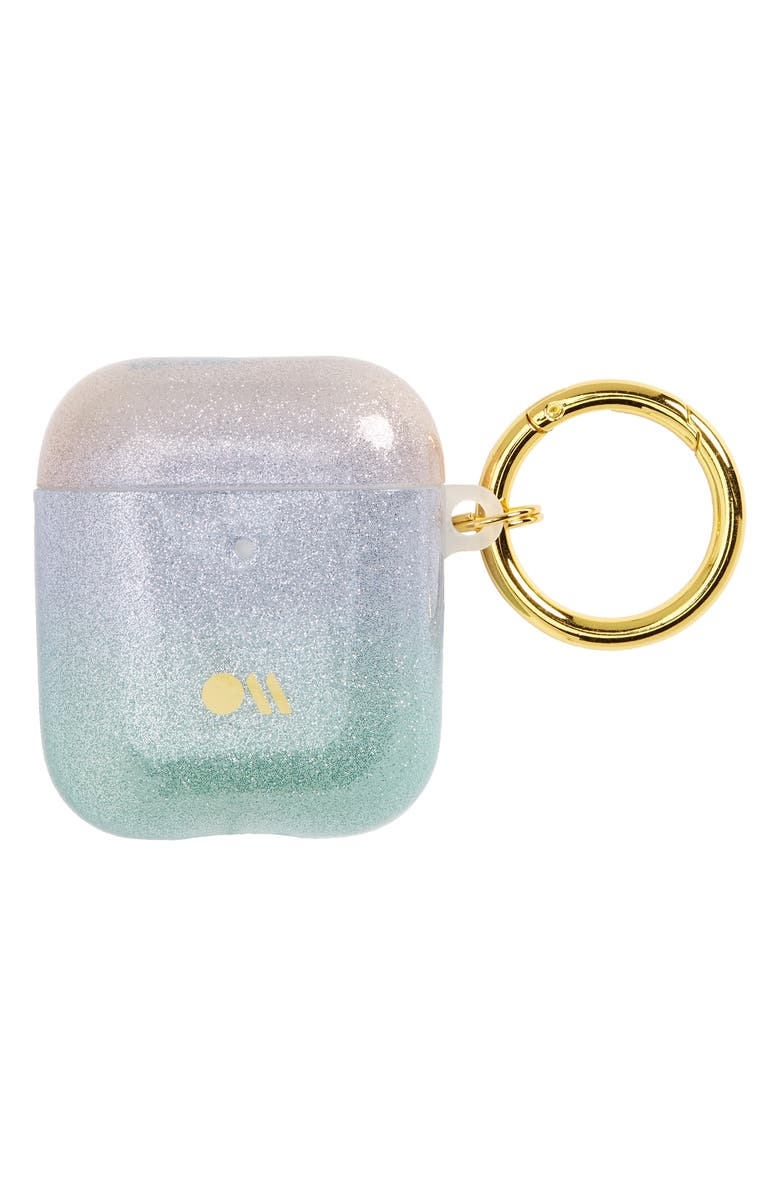 CASE-MATE<SUP>®</SUP> Soap Bubble Print AirPod Case, Main, color, SHIMMER IRIDESCENT