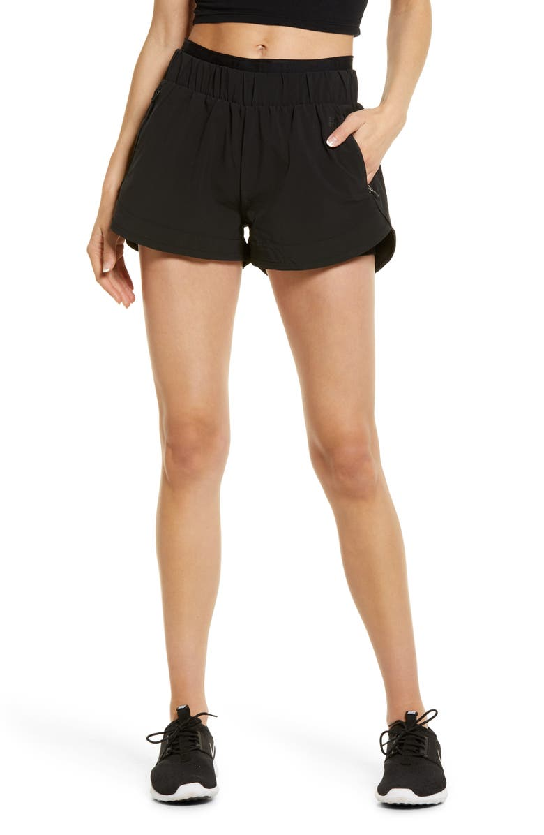 SWEATY BETTY On Your Marks 4-Inch Running Shorts, Main, color, BLACK