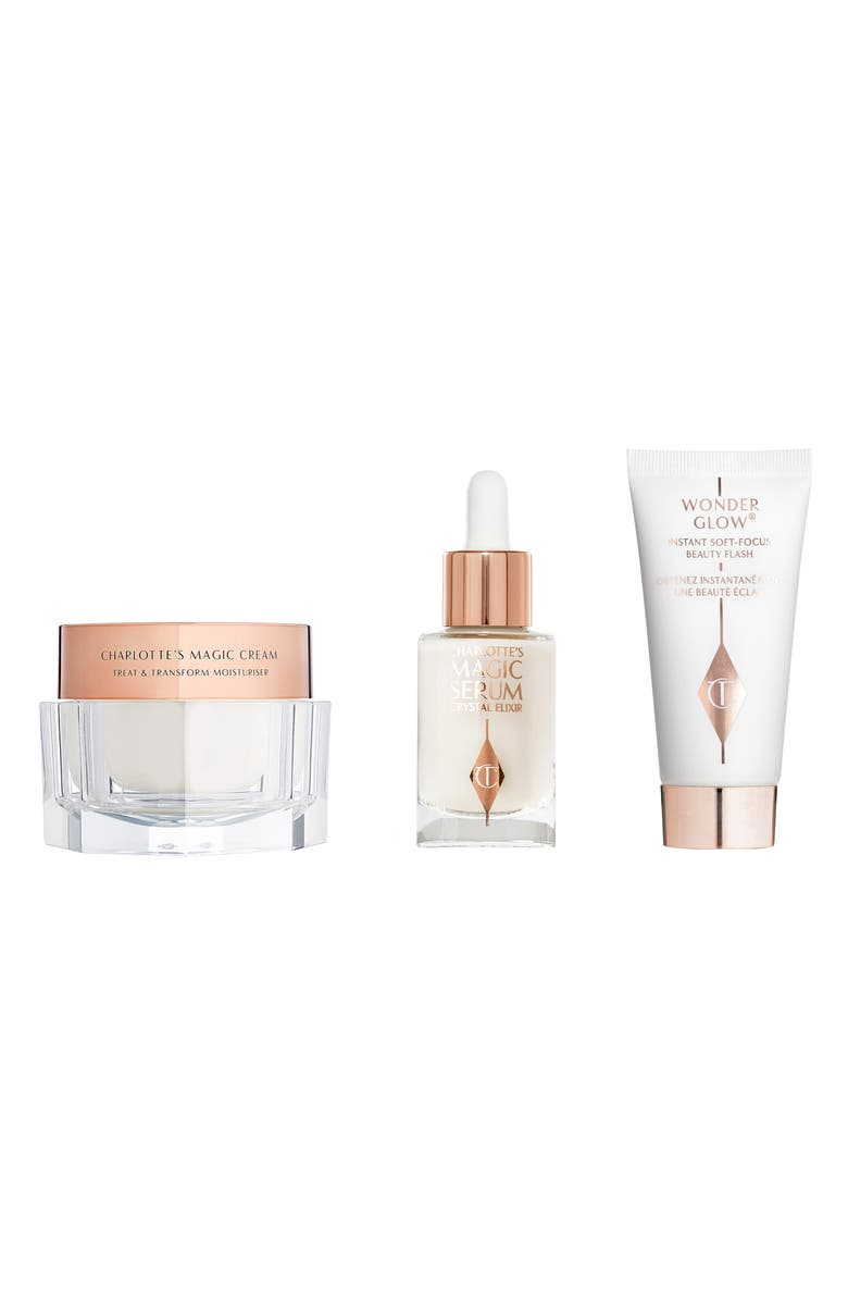 CHARLOTTE TILBURY Three Beauty Secrets for Glowing Skin Set, Main, color, NO COLOR