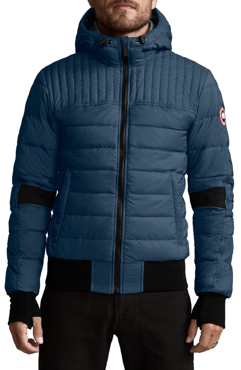 CANADA GOOSE Cabri Hooded Packable Down Jacket, Main, color, TEMPEST BLUE