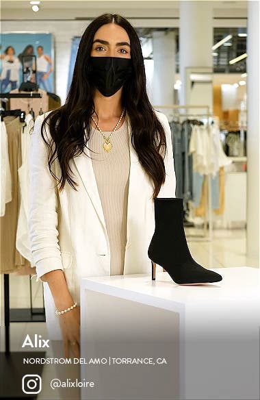 Stretch Knit Bootie, sales video thumbnail