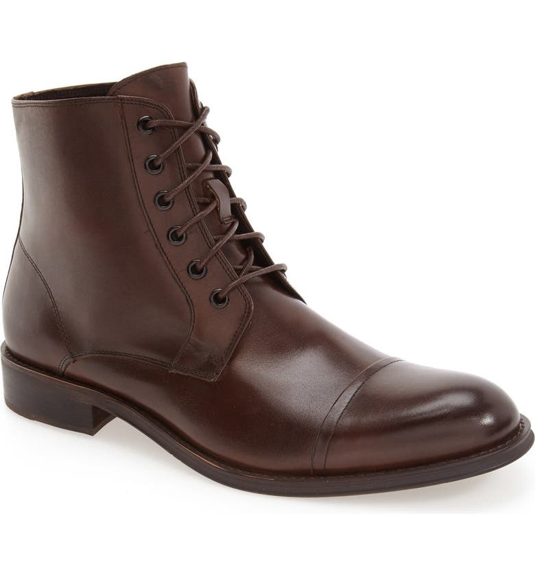 REACTION KENNETH COLE 'Direct Route' Cap Toe Boot, Main, color, 200