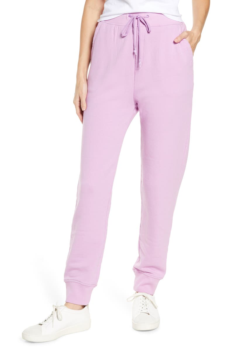 UGG<SUP>®</SUP> Ericka Relaxed Joggers, Main, color, VIOLET