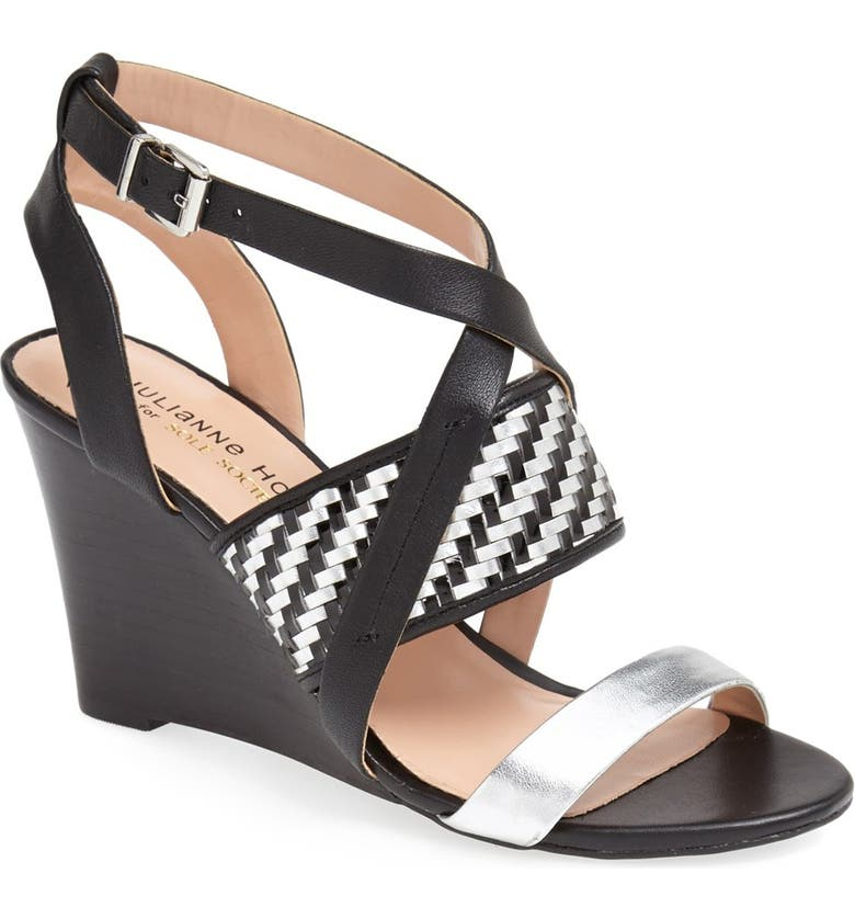 SOLE SOCIETY Julianne Hough for Sole Society 'Sadee' Sandal, Main, color, 001