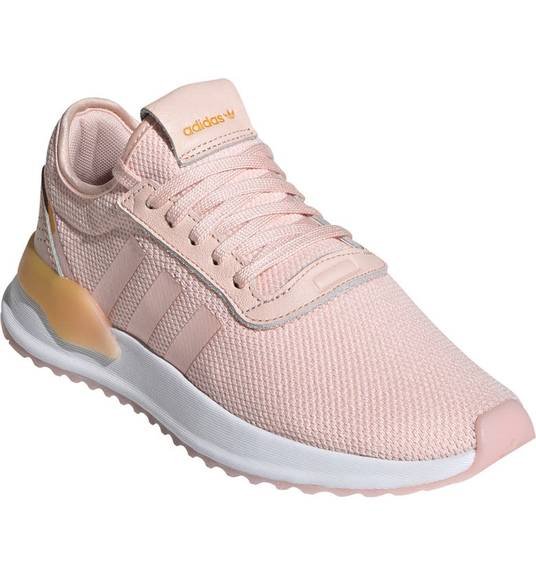ADIDAS U_Path X Sneaker, Main, color, ICEY PINK/ WHITE