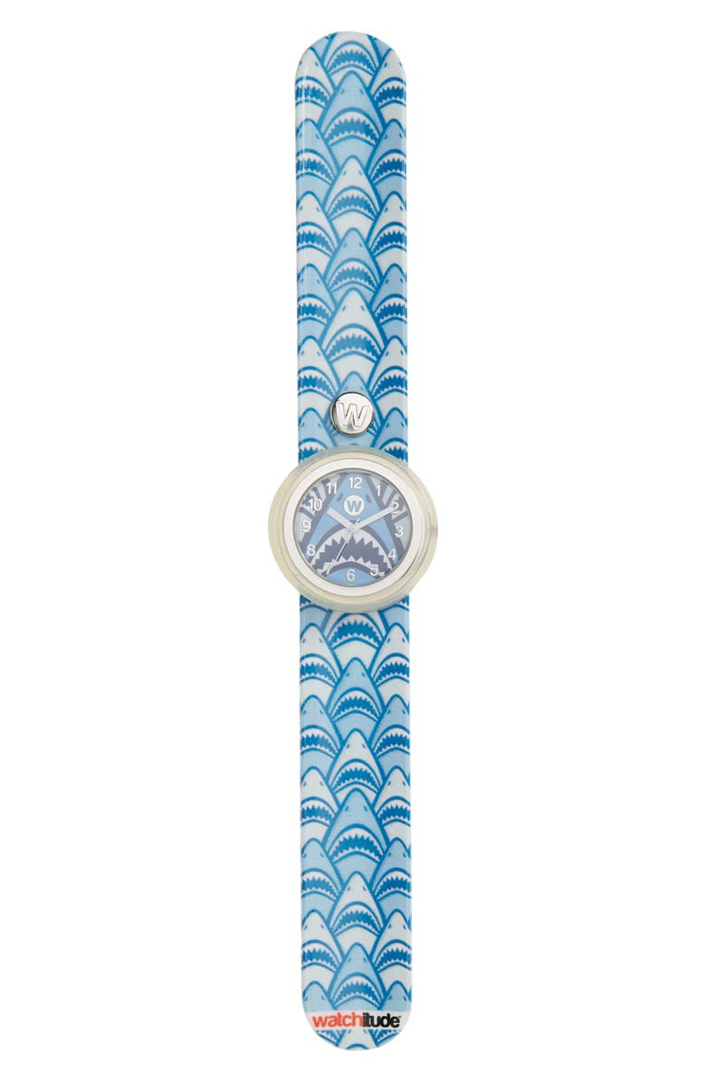 WATCHITUDE Shark Frenzy Slap Watch, Main, color, 400