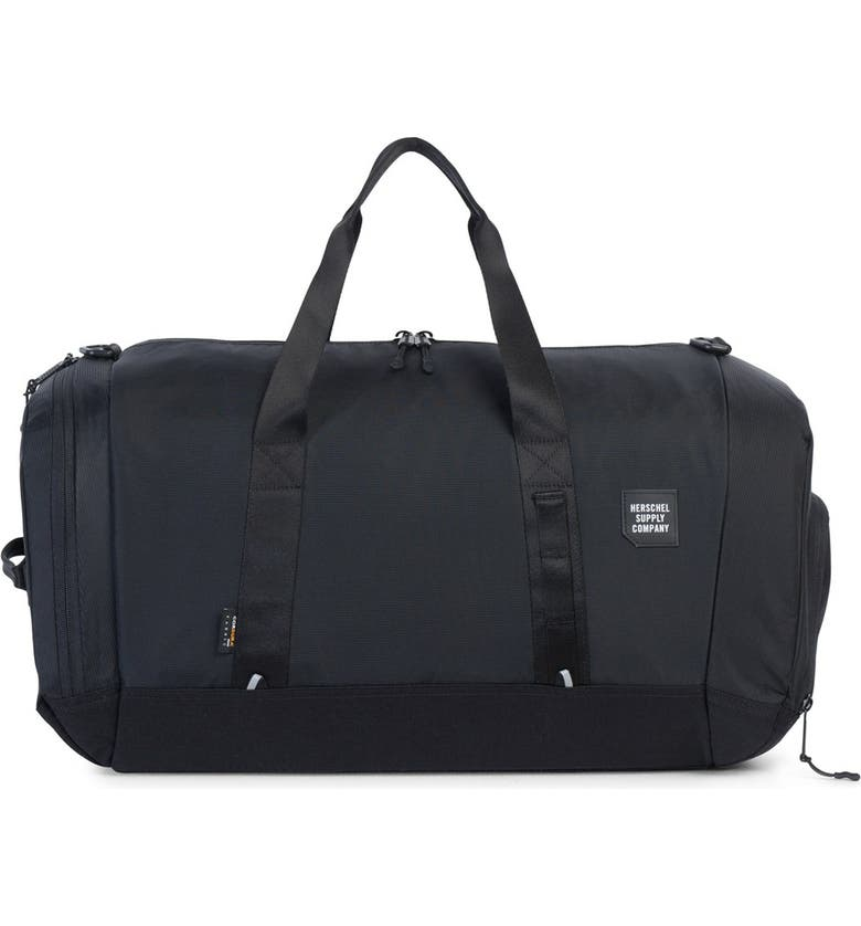 HERSCHEL SUPPLY CO. 'Trail Gorge' Duffel Bag, Main, color, 001