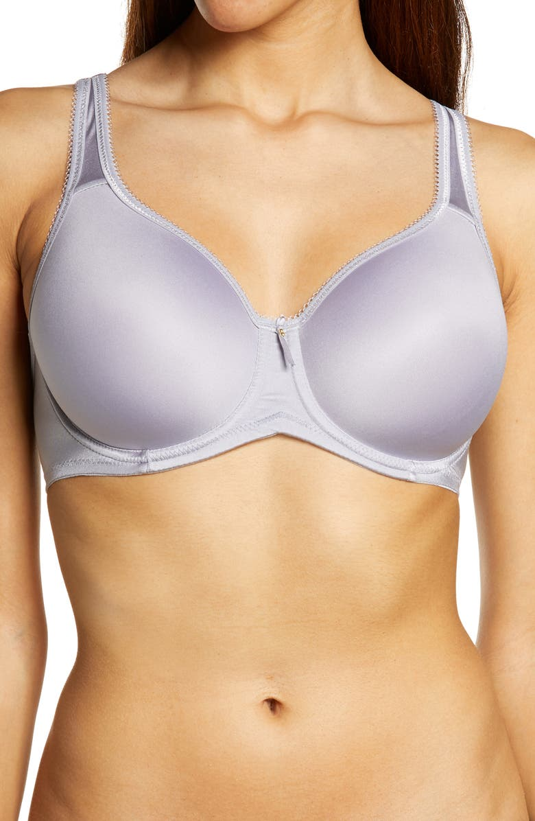WACOAL Full Figure Underwire Bra, Main, color, DAPPLE GRAY