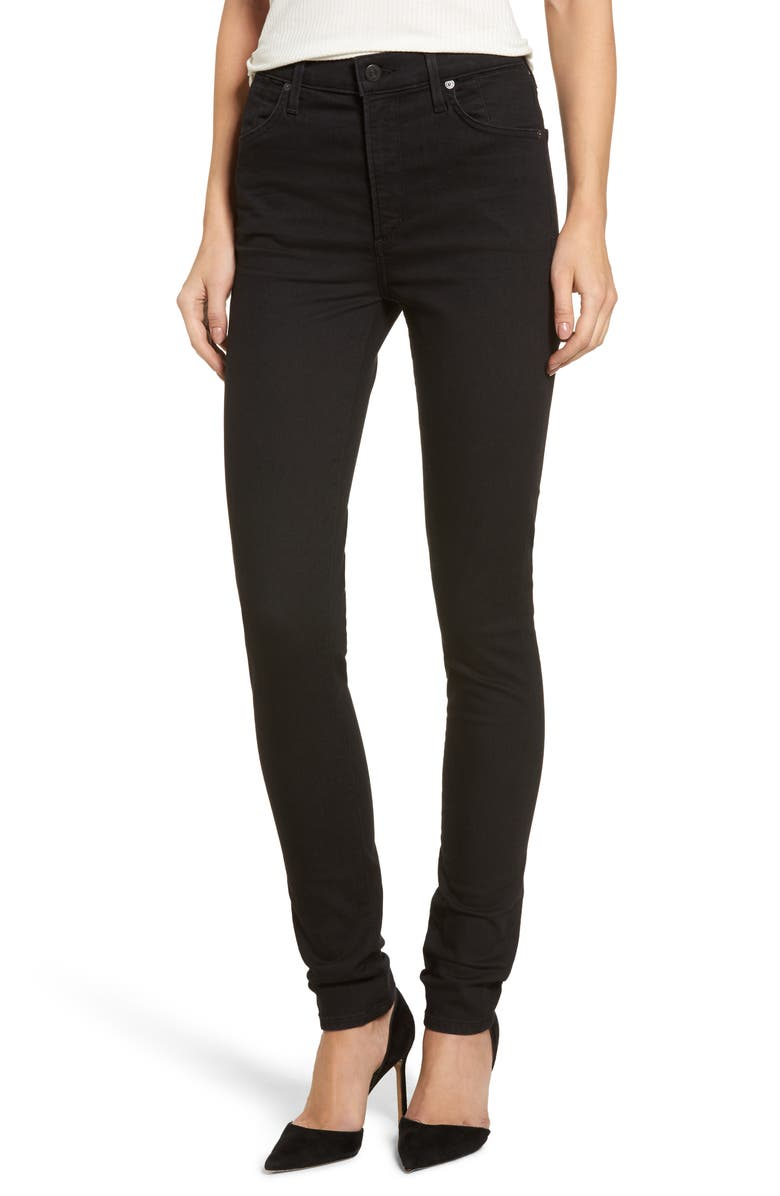 CITIZENS OF HUMANITY Carlie High Waist Skinny Jeans, Main, color, ALL NIGHT