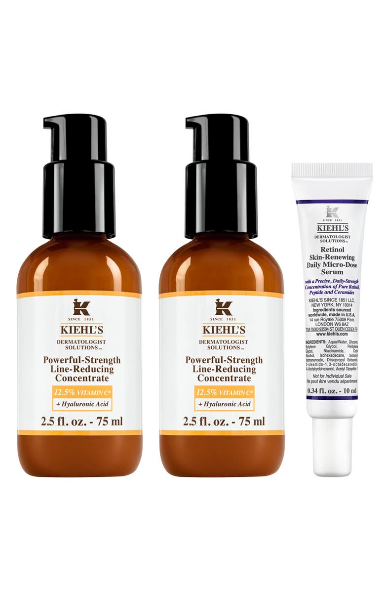 KIEHL'S SINCE 1851 Powerful-Strength<sup>™</sup> Concentrate Set-$196 Value, Main, color, NO COLOR