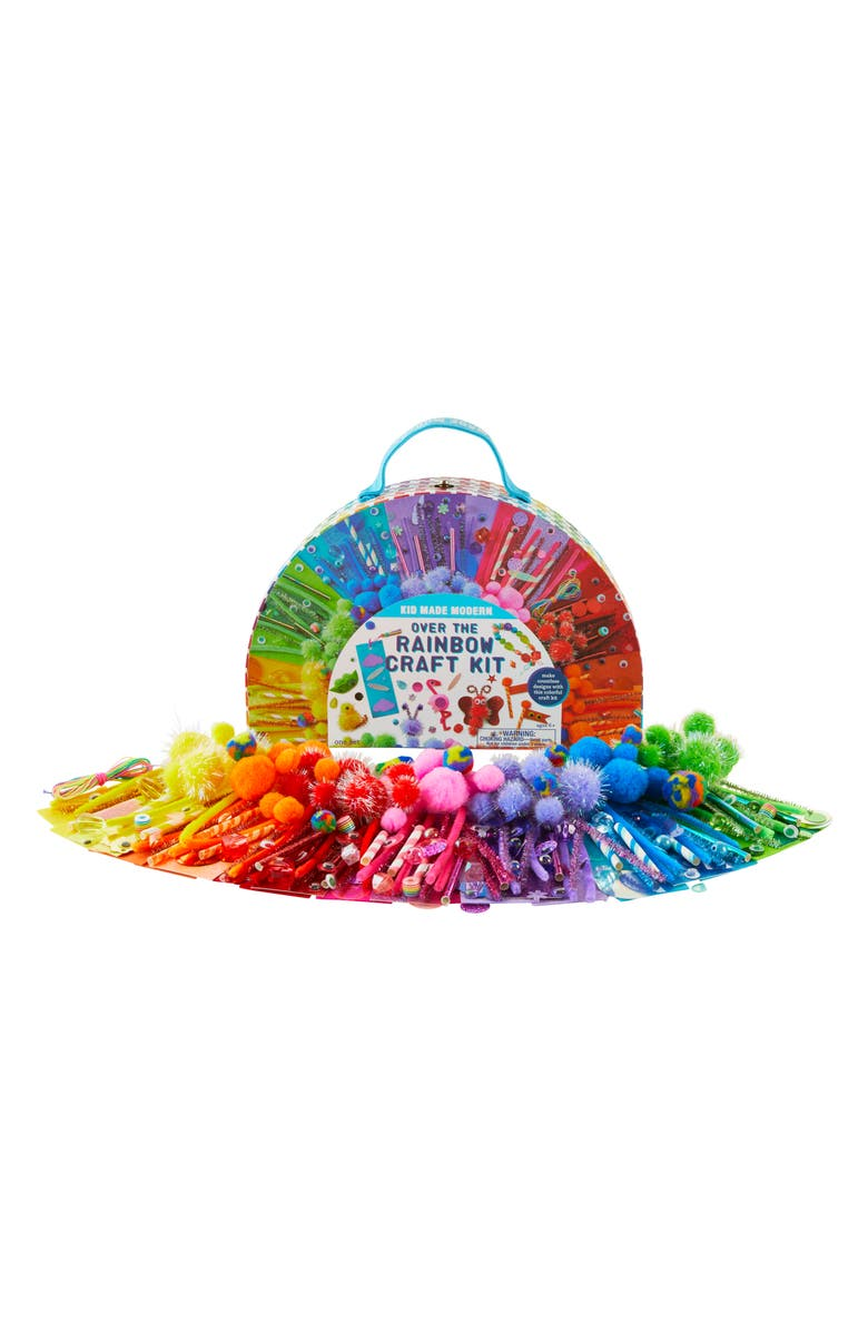 KID MADE MODERN Over the Rainbow Craft Kit, Main, color, NO COLOR