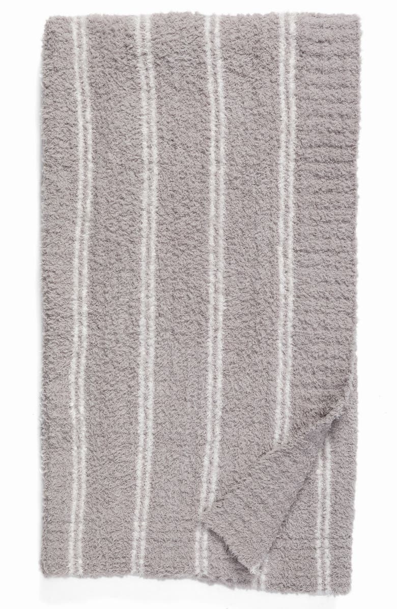 BAREFOOT DREAMS<SUP>®</SUP> Cozychic<sup>®</sup> Vertical Stripe Throw Blanket, Main, color, 020