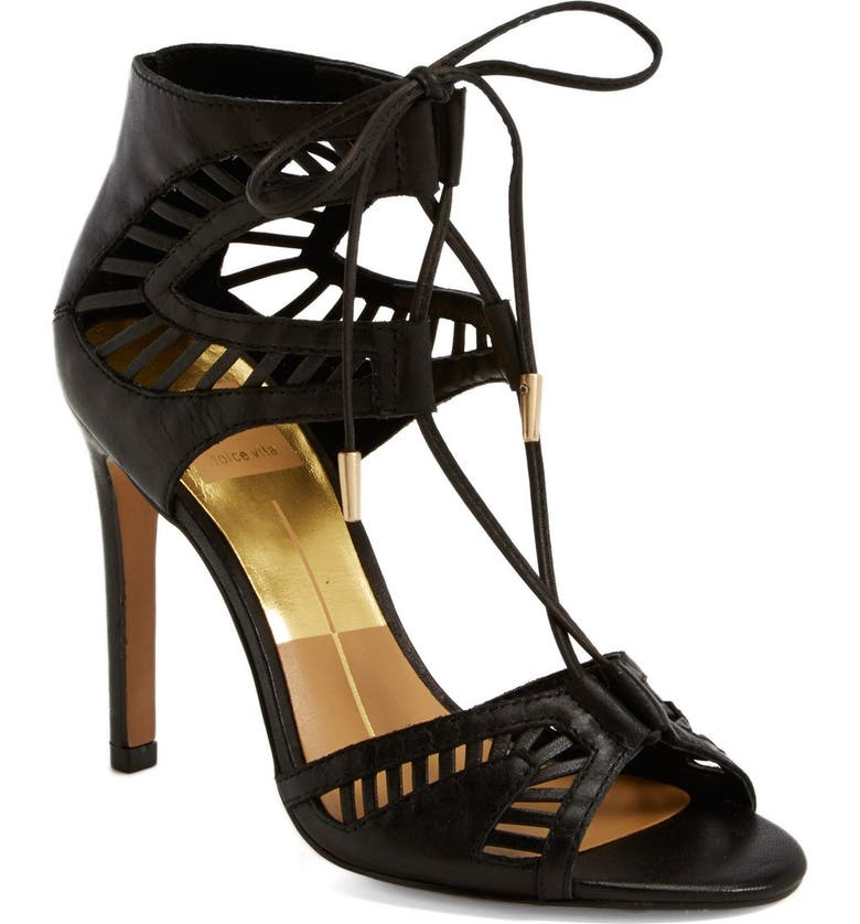DOLCE VITA 'Henlie' Open Toe Sandal, Main, color, 001