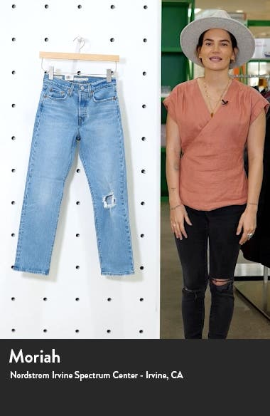 Wedgie Ripped High Waist Jeans, sales video thumbnail