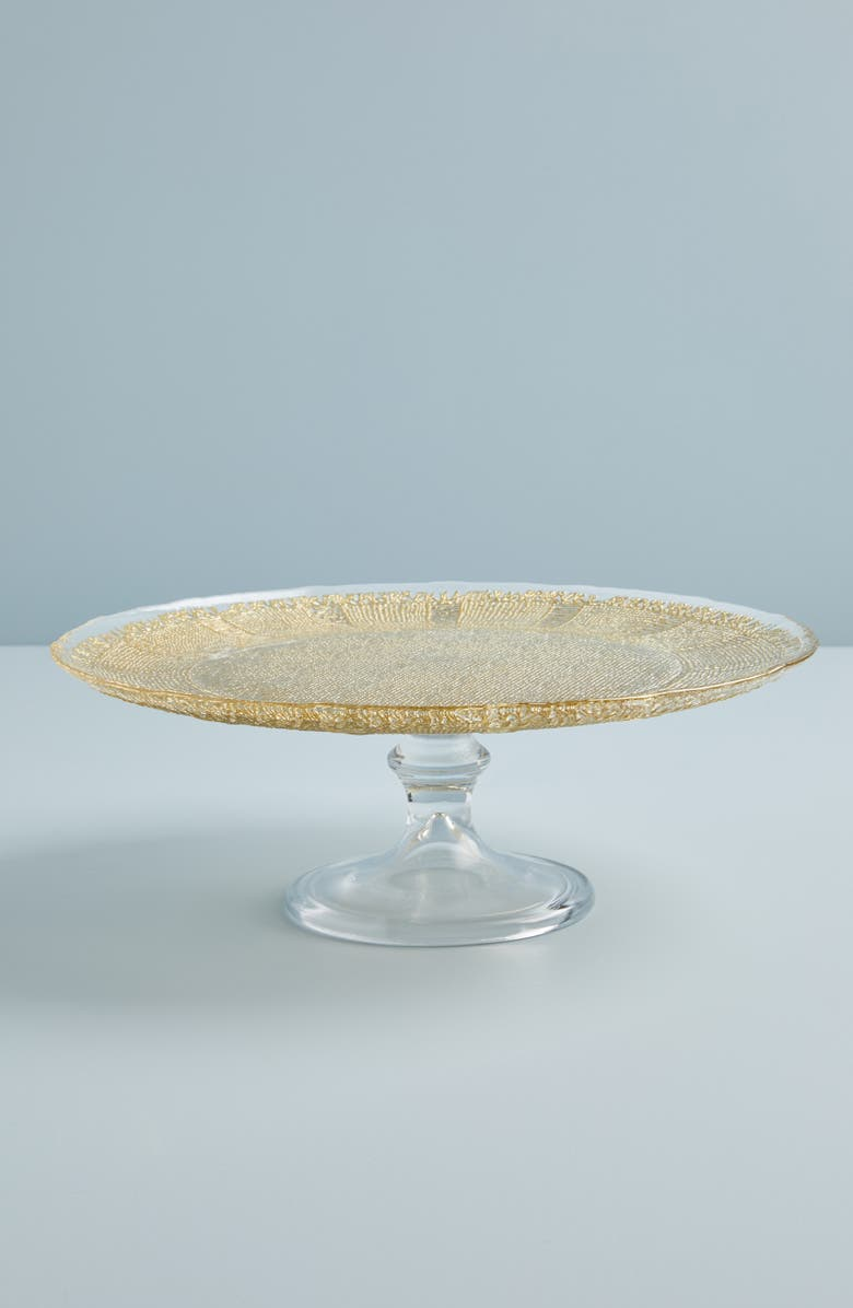 ANTHROPOLOGIE HOME Anthropologie Sarah Cake Stand, Main, color, 710