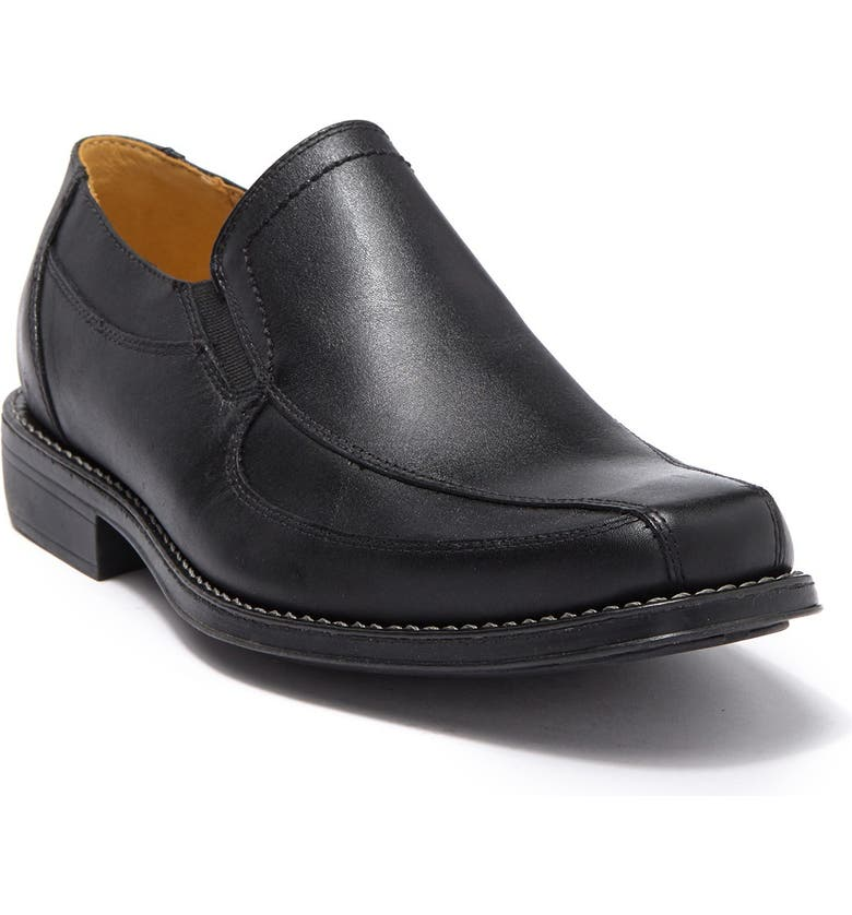 SANDRO MOSCOLONI Berwyn Venetian Loafer - Wide Width Available, Main, color, BLACK