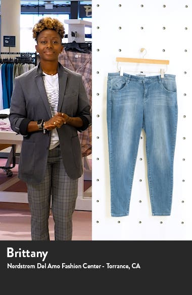 Ab-Solution High Waist Utility Jeans, sales video thumbnail