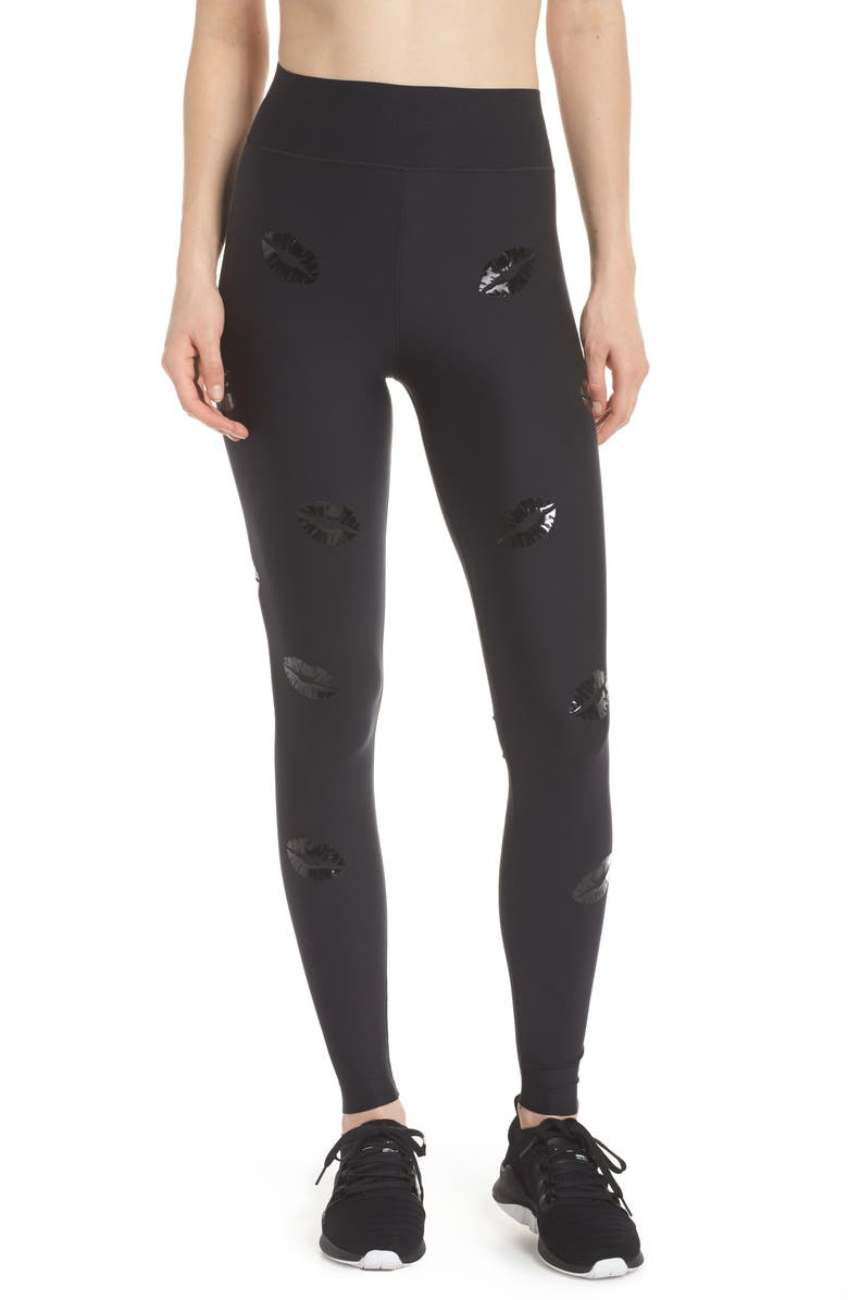 ULTRACOR Make Out Lux High Waist Leggings, Main, color, 002