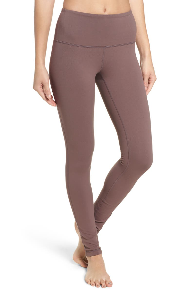 ZELLA Live In High Waist Leggings, Main, color, GREY SPARROW
