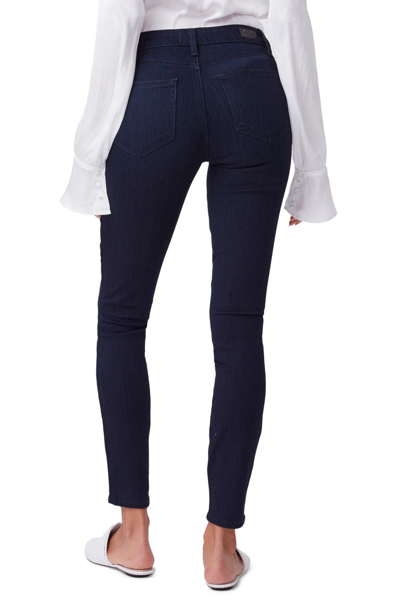 PAIGE Muse High Waist Ankle Super Skinny Jeans, Main, color, 400