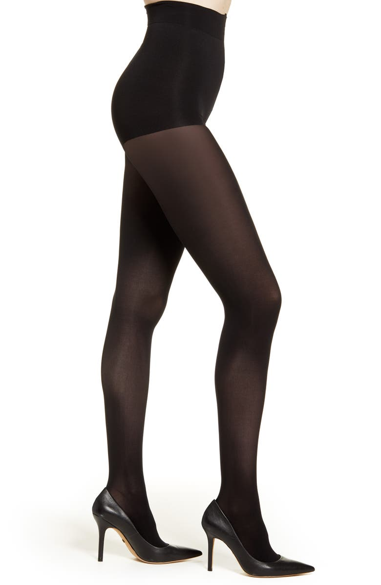 NATORI Perfectly 2-Pack Opaque Tights, Main, color, 001