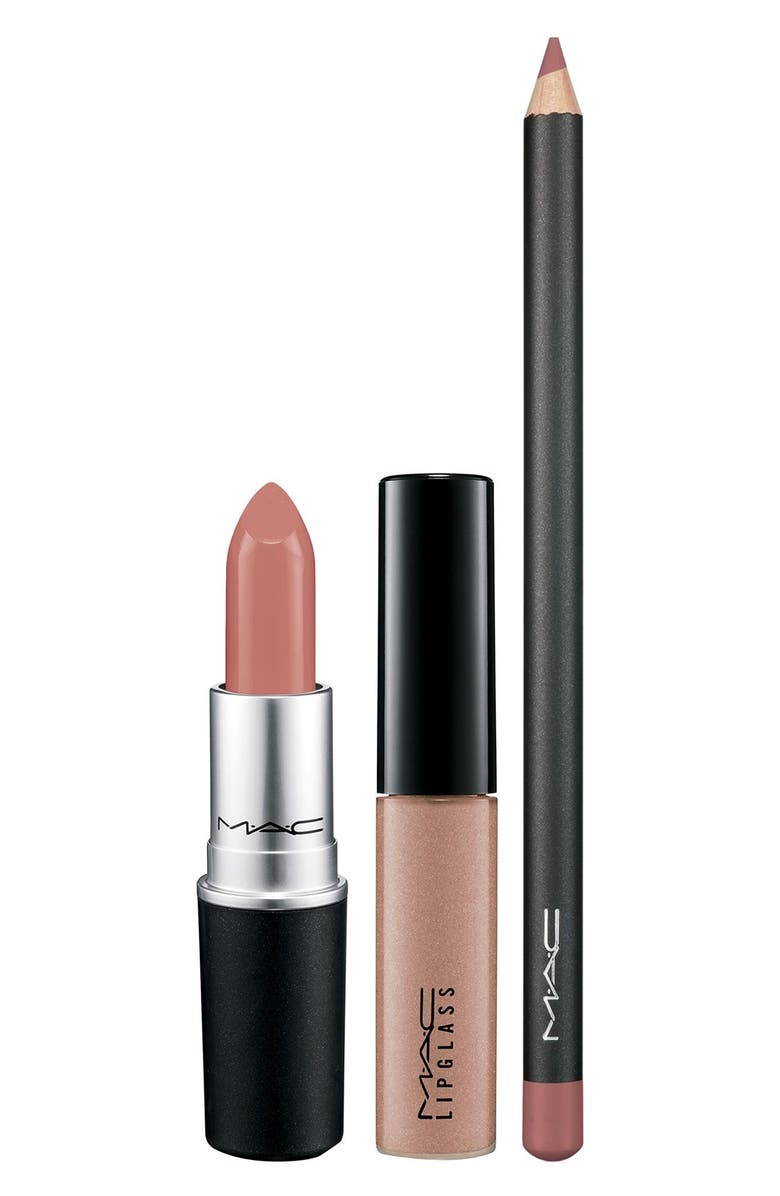 MAC COSMETICS M·A·C 'Look in a Box - Pretty Natural' Lip Kit, Main, color, 250