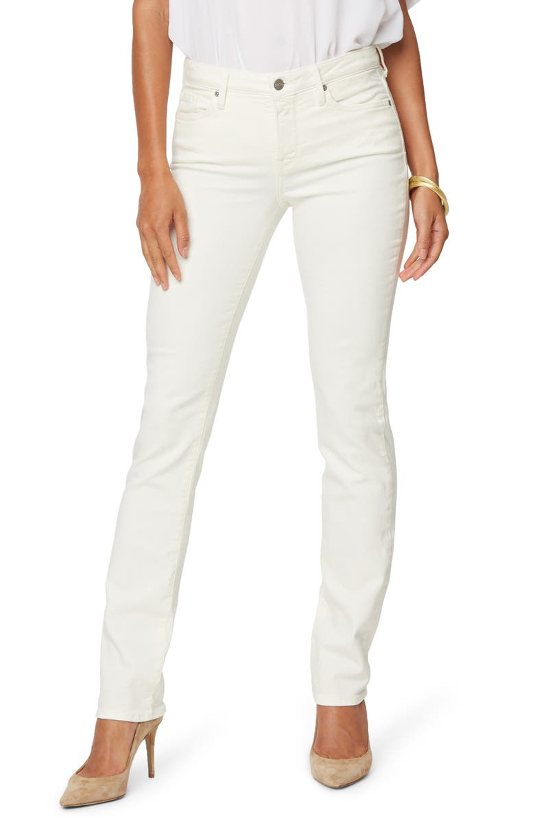 NYDJ Sheri Slim Jeans, Main, color, VANILLA