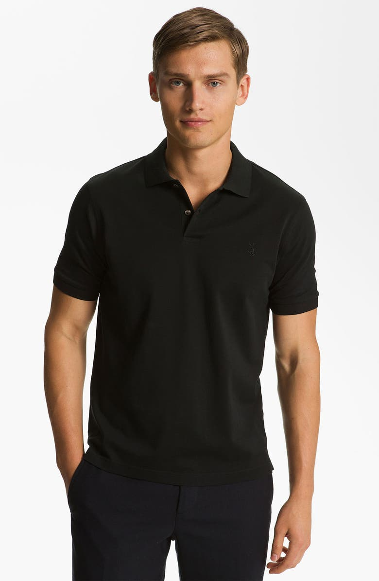PRINGLE OF SCOTLAND Piqué Polo, Main, color, 001