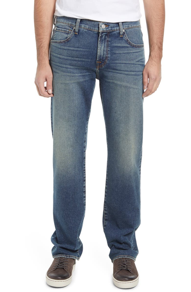 7 FOR ALL MANKIND Men's Austyn Relaxed Fit Straight Leg Jeans, Main, color, WESTPORT
