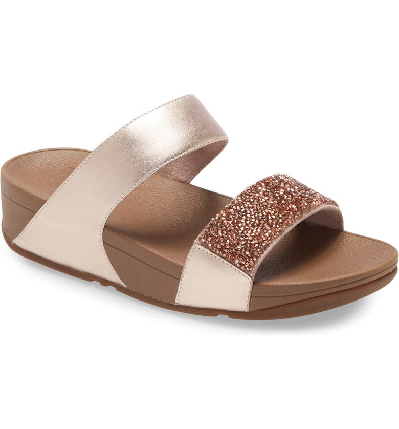 FITFLOP Sparklie Crystal Embellished Slide Sandal, Main, color, 650