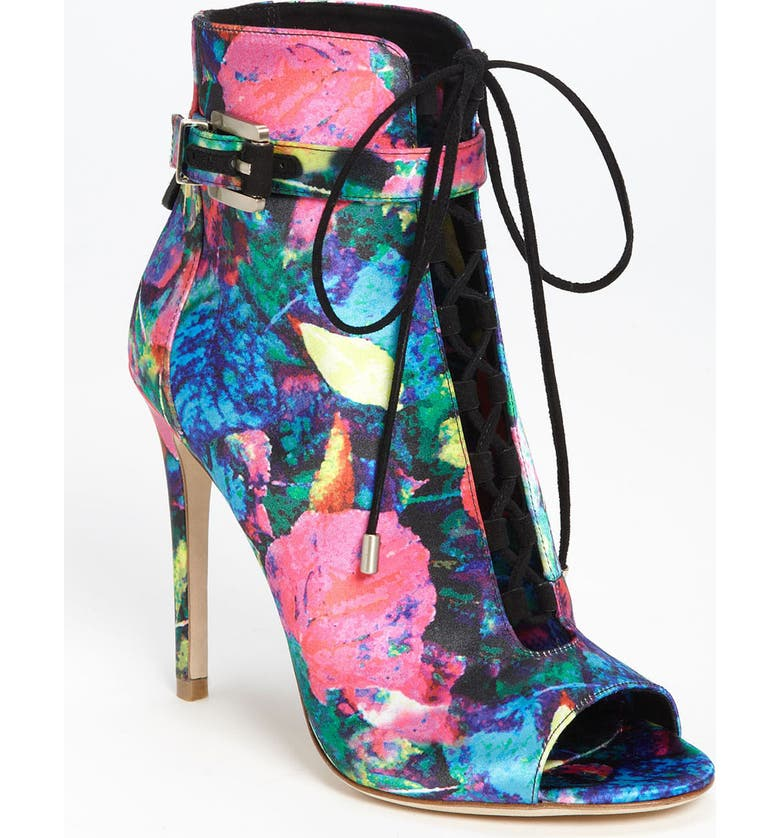 B BRIAN ATWOOD 'Linford 2' Bootie, Main, color, DARK PINK MULTI