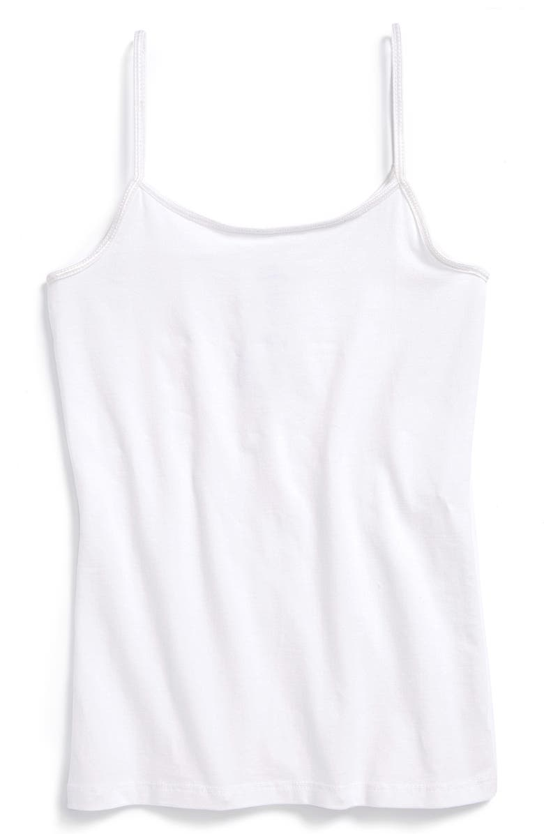 NORDSTROM Tucker + Tate Kids' Long Camisole, Main, color, WHITE