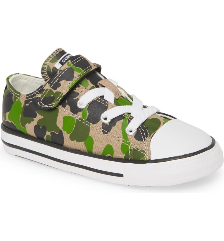 CONVERSE Chuck Taylor<sup>®</sup> All Star<sup>®</sup> 1V Camo Low Top Sneaker, Main, color, 200