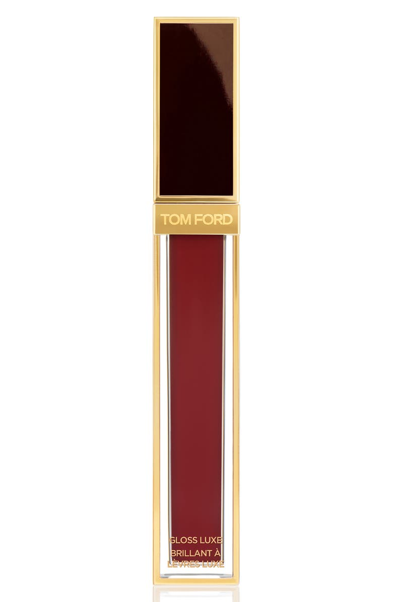 TOM FORD Gloss Luxe Moisturizing Lipgloss, Main, color, 18 SABOTEUR